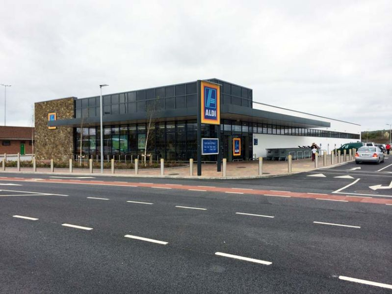 Aldi Tralee Supermarket Construction By Ned O Shea Amp Sons Ltd