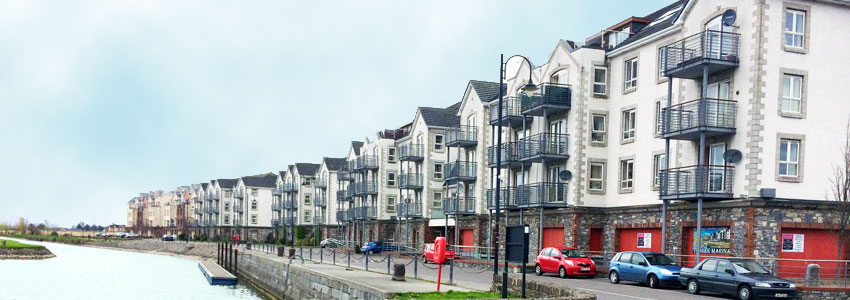 Tralee Marina Apartments - building by Ned O'Shea & Sons